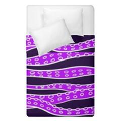 Purple Tentacles Duvet Cover Double Side (single Size)