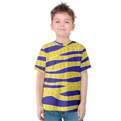 Yellow Tentacles Kids  Cotton Tee