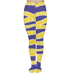 Yellow Tentacles Women s Tights
