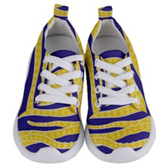 Yellow Tentacles Kids  Lightweight Sports Shoes