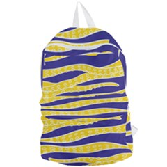 Yellow Tentacles Foldable Lightweight Backpack