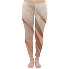 Background Light Glow Abstract Art Classic Winter Leggings