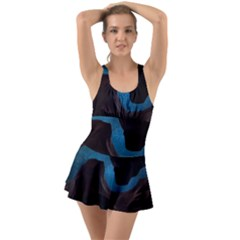 Abstract Adult Art Blur Color Swimsuit