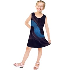 Abstract Adult Art Blur Color Kids  Tunic Dress