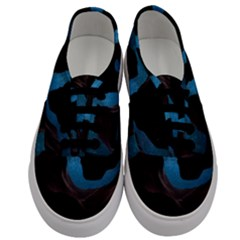 Abstract Adult Art Blur Color Men s Classic Low Top Sneakers