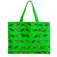 Fish Aquarium Underwater World Zipper Mini Tote Bag