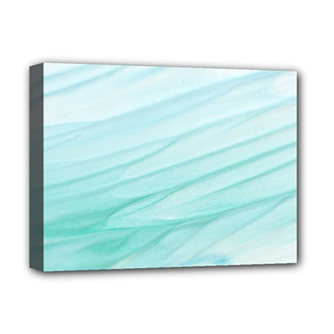 Texture Seawall Ink Wall Painting Deluxe Canvas 16  X 12