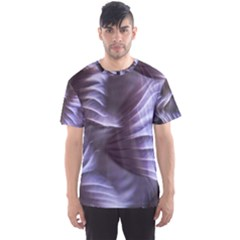 Sea Worm Under Water Abstract Men s Sports Mesh Tee