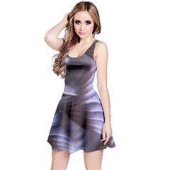 Sea Worm Under Water Abstract Reversible Sleeveless Dress