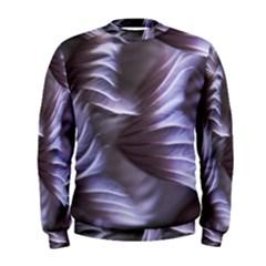 Sea Worm Under Water Abstract Men s Sweatshirt