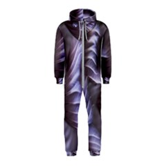 Sea Worm Under Water Abstract Hooded Jumpsuit (kids)