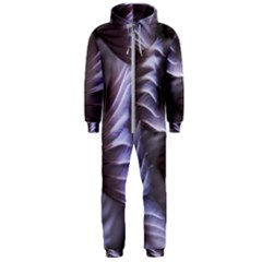 Sea Worm Under Water Abstract Hooded Jumpsuit (men)