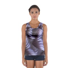 Sea Worm Under Water Abstract Sport Tank Top