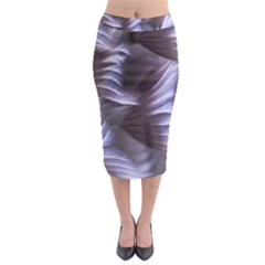 Sea Worm Under Water Abstract Midi Pencil Skirt