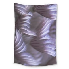 Sea Worm Under Water Abstract Large Tapestry