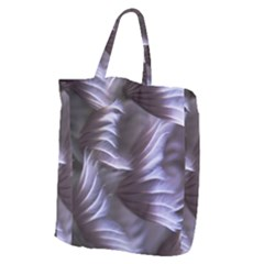 Sea Worm Under Water Abstract Giant Grocery Zipper Tote