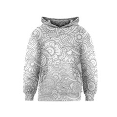 Ornament Vector Retro Kids  Pullover Hoodie