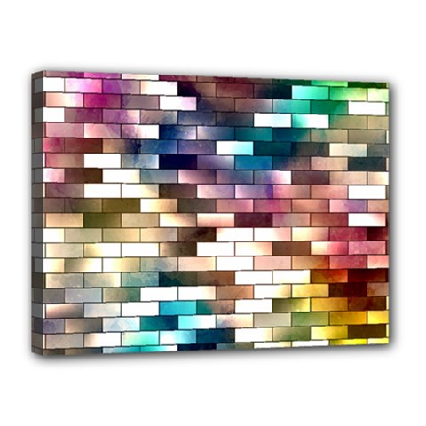 Background Wall Art Abstract Canvas 16  X 12