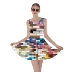 Background Wall Art Abstract Skater Dress