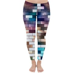 Background Wall Art Abstract Classic Winter Leggings