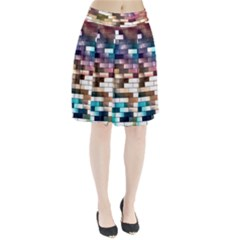 Background Wall Art Abstract Pleated Skirt