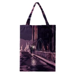 Texture Abstract Background City Classic Tote Bag