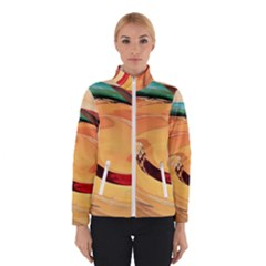 Spiral Abstract Colorful Edited Winterwear