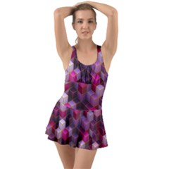 Cube Surface Texture Background Swimsuit