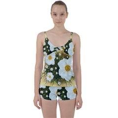 Summer Anemone Sylvestris Tie Front Two Piece Tankini