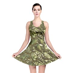 Seamless Repeat Repetitive Reversible Skater Dress