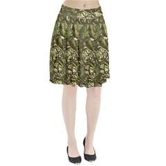 Seamless Repeat Repetitive Pleated Skirt