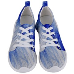 Feather Blue Colored Women s Lightweight Sports Shoes