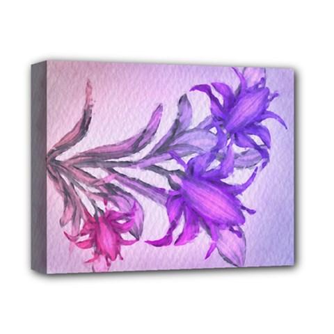 Flowers Flower Purple Flower Deluxe Canvas 14  X 11