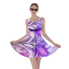 Flowers Flower Purple Flower Skater Dress