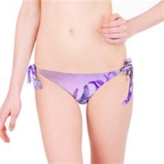 Flowers Flower Purple Flower Bikini Bottom