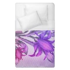 Flowers Flower Purple Flower Duvet Cover (single Size)