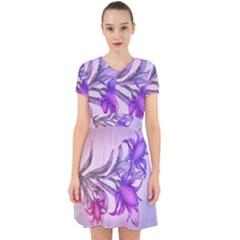 Flowers Flower Purple Flower Adorable In Chiffon Dress