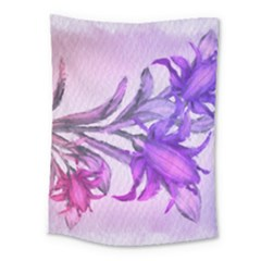 Flowers Flower Purple Flower Medium Tapestry