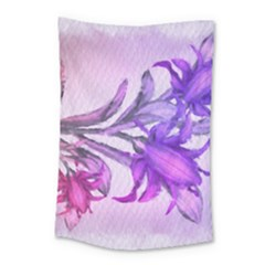 Flowers Flower Purple Flower Small Tapestry
