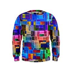 Background Art Abstract Watercolor Kids  Sweatshirt