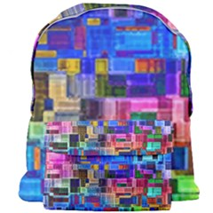 Background Art Abstract Watercolor Giant Full Print Backpack
