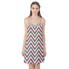 Chevron Blue Pink Camis Nightgown