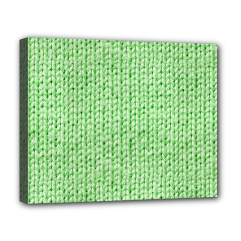 Knittedwoolcolour2 Deluxe Canvas 20  X 16