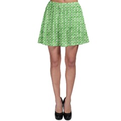 Knittedwoolcolour2 Skater Skirt