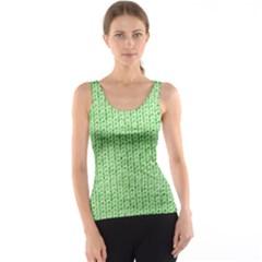 Knittedwoolcolour2 Tank Top
