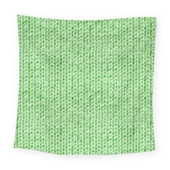 Knittedwoolcolour2 Square Tapestry (large)