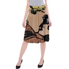 Kiss Kiss Midi Beach Skirt