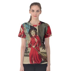 Haloweencard3 Women s Cotton Tee