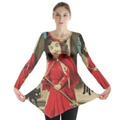 Haloweencard3 Long Sleeve Tunic