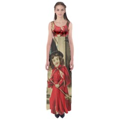 Haloweencard3 Empire Waist Maxi Dress